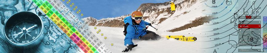 Banner SPOT & METEO Snowkite, Kite Enjoy. Previsiones para la practica de snowkite cerca de Madrid